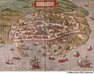 Braun Georg, Alessandria d'Egitto, 1572