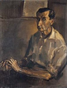 Ramon Gaya Retrato de Don Jose Bergamin 1961