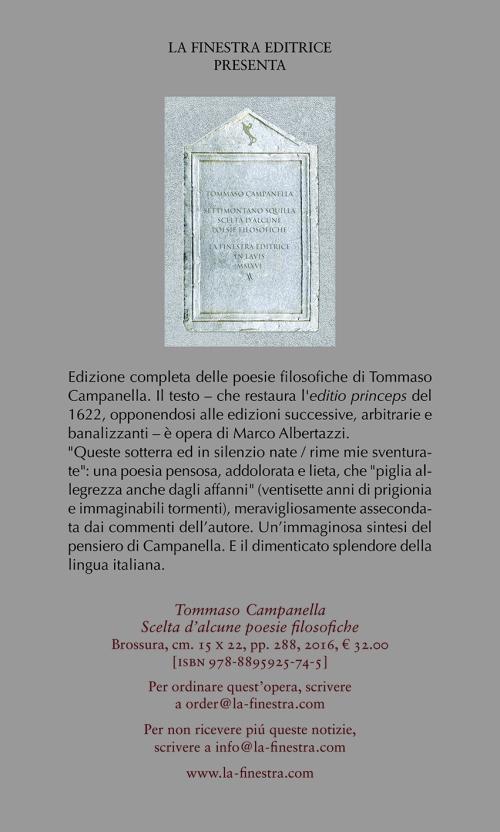 Scheda Campanella nuova:Campanella